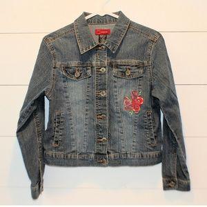 Girl's Arizona Jean Jacket Coat Size Large